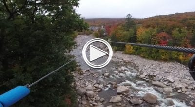 Loon Mt Zip Line
